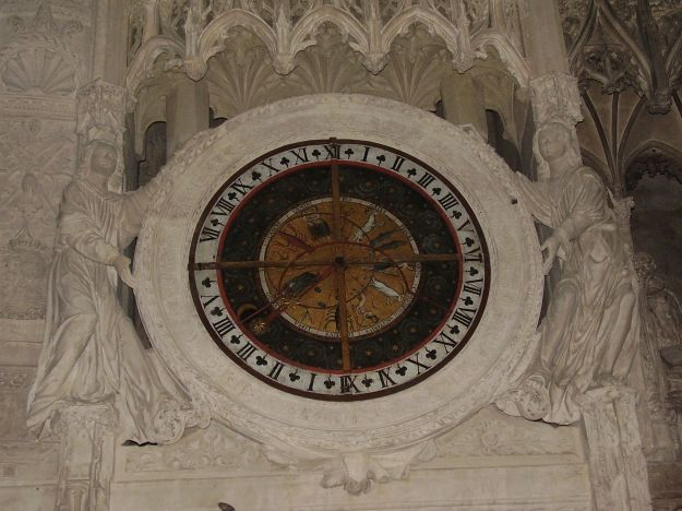 Astrological Wheel, Chartres
